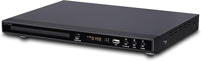 Denver Dvh 1245 Dvd Player Schwarz Elektronik