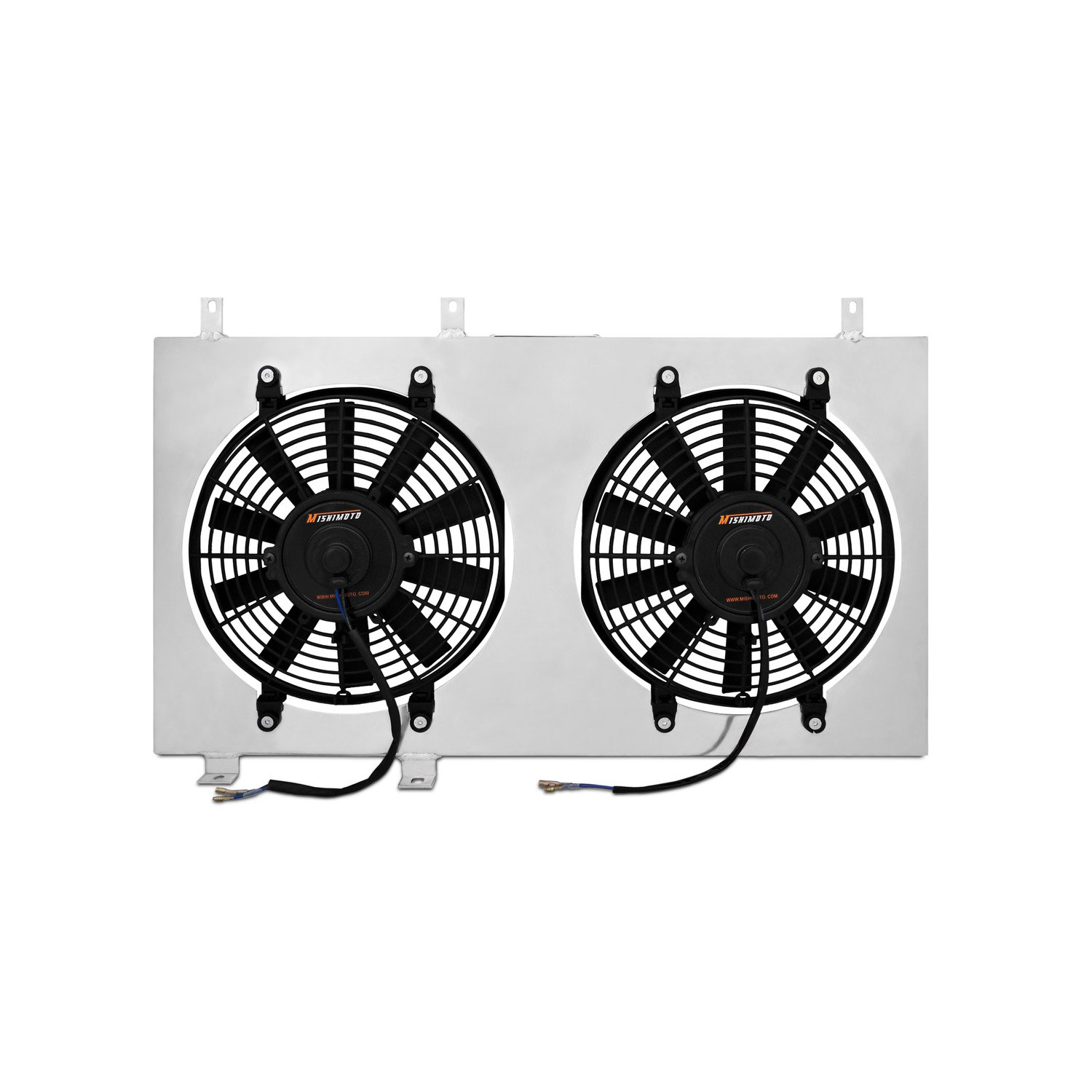 Mishimoto MMFS-MUS-79 Ford Mustang Performance Aluminum Radiator Fan Shroud Kit, 1979-1993, Silver