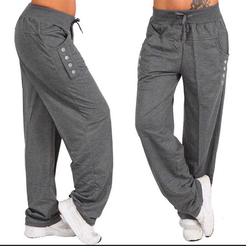 Amazon.com: Fanteecy - Pantalones de yoga para mujer con ...