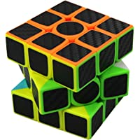 FC MXBB 3X3 Magic Cube Carbon Fiber Sticker 3X3X3 Speed Cube 56mm - Brain Teasers Twist Toys for Kids