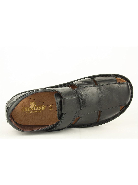 GRUNLAND Herren , Herren GRUNLAND Sandalen Schwarz schwarz Schwarz 93cf00