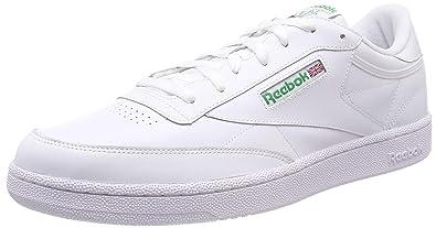 11e45d454 Reebok Men s Club C 85 Gymnastics Shoes  Amazon.co.uk  Shoes   Bags