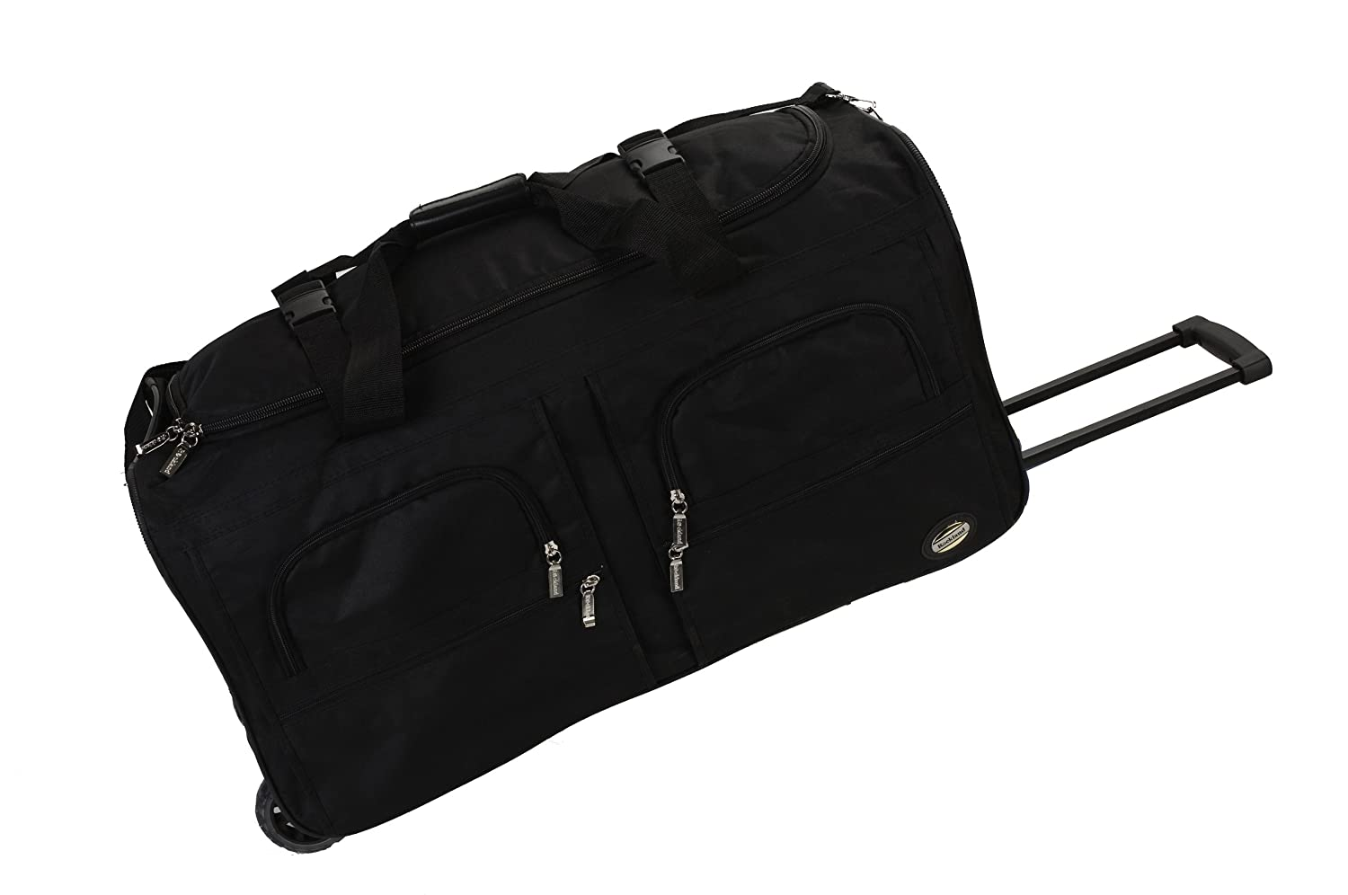 Rockland Luggage 30 Inch Rolling Duffle/ Bag Medium Black