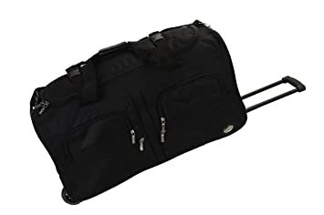 3a162320a51f Image Unavailable. Image not available for. Color  Rockland Luggage 30 Inch  Rolling Duffle Bag ...