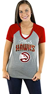 add7444cfd955 Amazon.com   NBA Women s Half Sleeve Tee Shirt with Logo   Sports ...