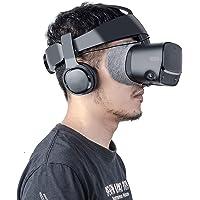 MYJK Stereo VR Headphone/Soundkit Custom Made for Oculus Rift S VR Headset-1 Pair (Black)