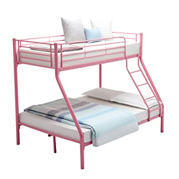 Mecor 3ft Single 4ft6 Double Metal Bunk Beds Triple Sleeper Beds For