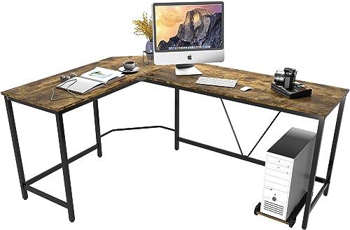 45MinST Gaming Desk,66-Inch L-Shaped Computer Desk