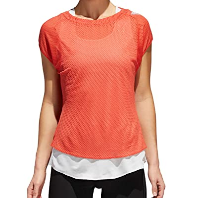 adidas TKO UV Tee W T-shirt, femmes M Multicolore (esctra/balcri)