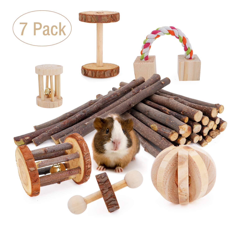 Janyoo Rat Chinchilla Toys Guinea Pig Accessories Bunny