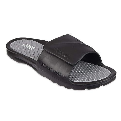 3aa7bdc267ae3 Chaps Men's Slide Athletic Sandal Flip-Flop