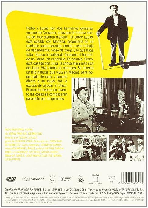 Don Paco Martinez Soria: Vaya Par De Gemelos/ Se Armo El Belen DVD: Amazon.es: Paco Martinez Soria, Angel de Andres, Maria Isbert, Margot Cottens, Maria Luisa Ponte, Jose Maria Guillen, Inma de