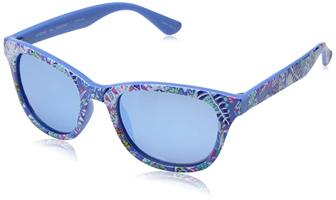 42299186bb Image Unavailable. Image not available for. Color  Lilly Pulitzer Women s  Maddie Polarized Square Sunglasses ...
