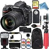 Nikon D750 24.3MP Digital SLR Camera with AF-S NIKKOR 24-120mm f/4G ED VR Lens + Dual Battery & 64GB & DigitalAndMore Free Deluxe Accessory Kit Bundle