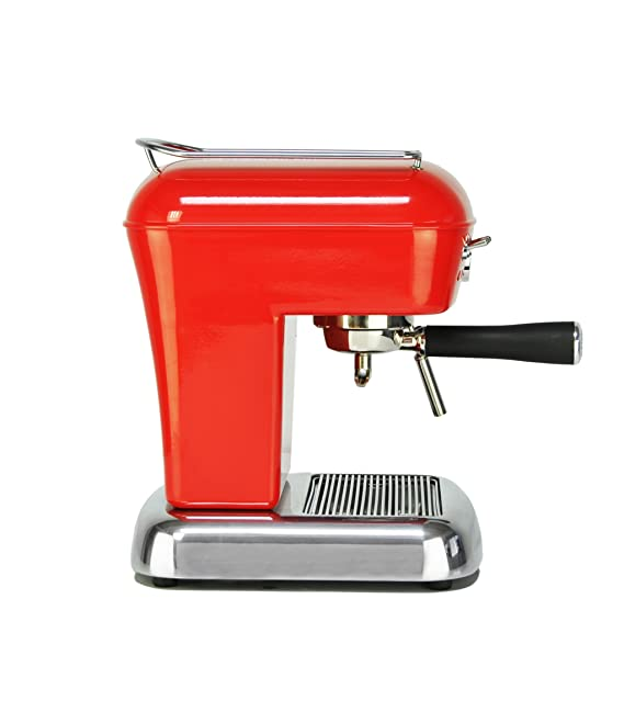 Ascaso DR.14UK Dream Versatile Coffee Machine, Love Red by ASCASO ...