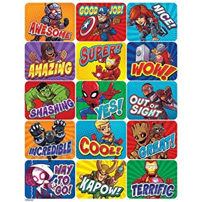 Eureka Marvel Super Hero Adventure Stickers - Success: Office Products