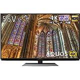 シャープ SHARP 55V型 4K チューナー内蔵 液晶 テレビ AQUOS Android TV HDR対応 4T-C55BL1
