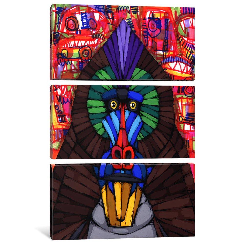 60 x 40//0.75 Deep iCanvasART 3 Piece Impressive Nature Too Canvas Print by RIC Stultz