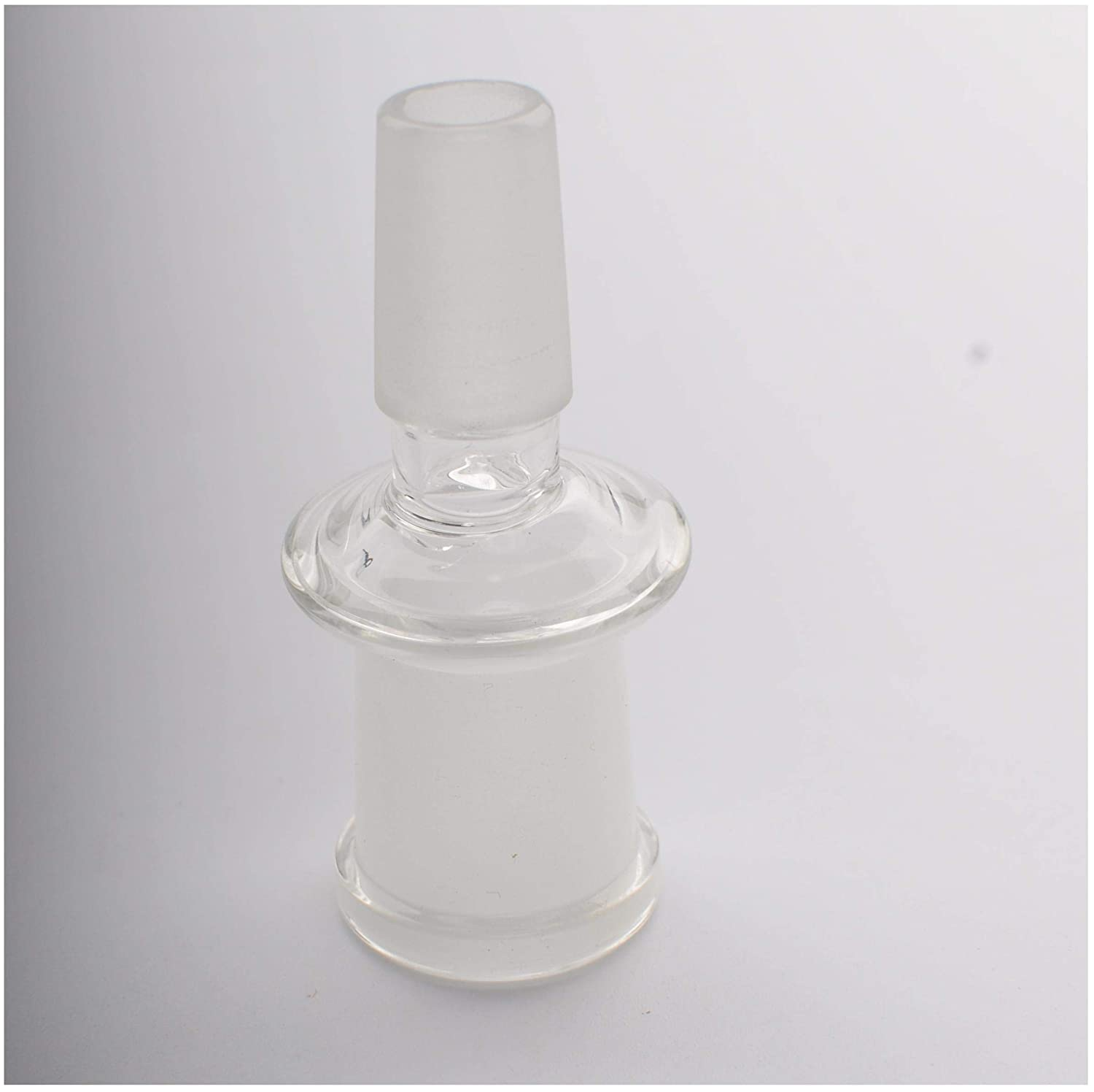 Glass Tube Adapter,18 mm Male to Female 18 mm Essential Adapter