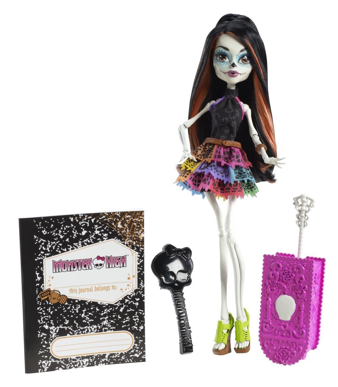 Monster High Monster Scaritage Skelita Calaveras Puppe und Fashion ...