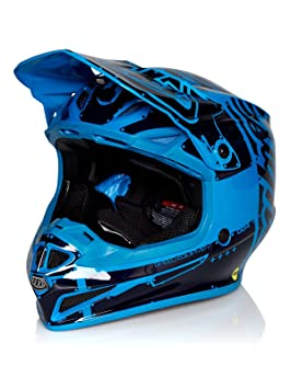 Troy Lee Designs Casco Mx 2019 Se4 Factory Polyacrylite Ocean (M, Azul)