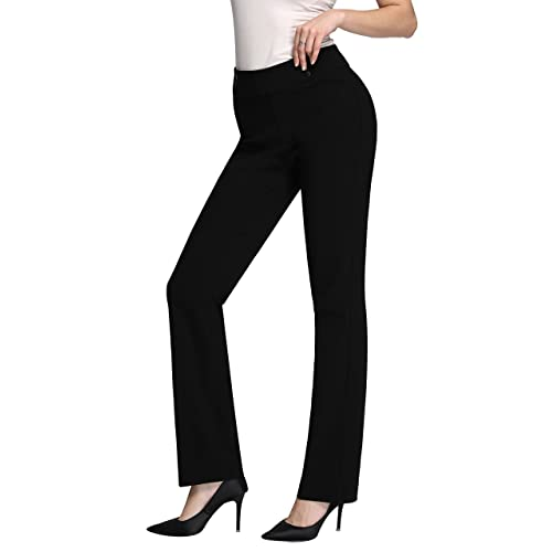 Women S Pull On Dress Pants Amazon Com