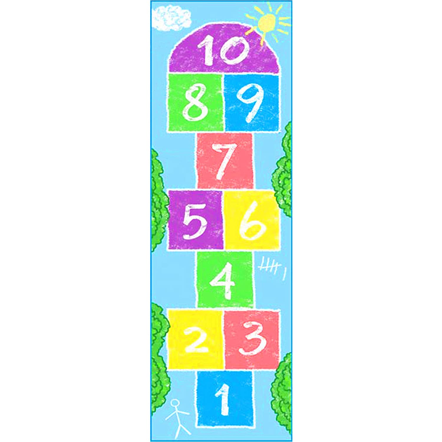 Learning Carpets Hopscotch II Play Carpet LC 203