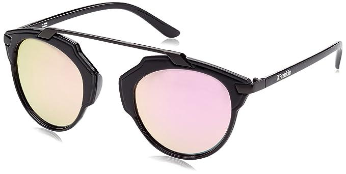 D. Franklin Dubai Gafas de Sol, Negro, 54 Unisex Adulto ...