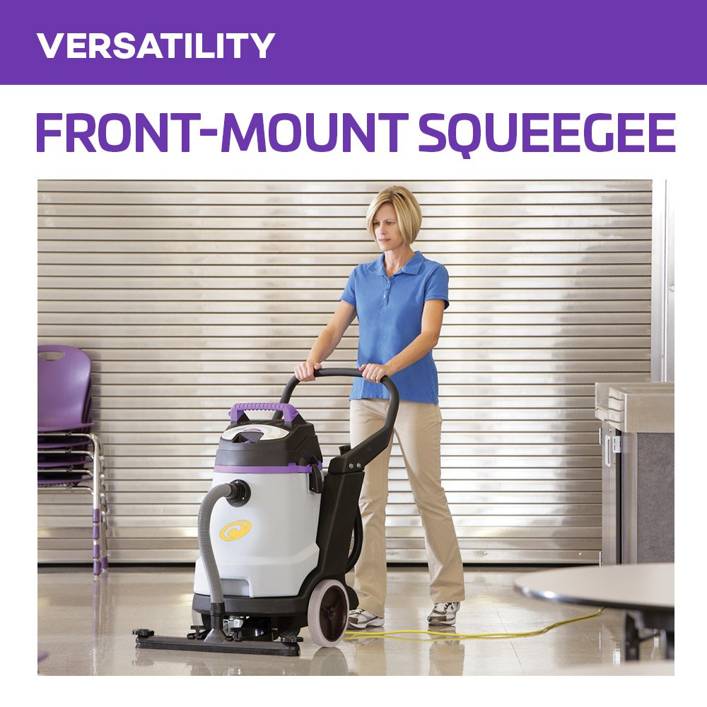 ProTeam Wet Dry Vacuums, ProGuard 15, 15-Gallon Commercial Wet Dry Vacuum Cleaner with Tool Kit and Front Mount Squeegee by ProTeam (Image #4)