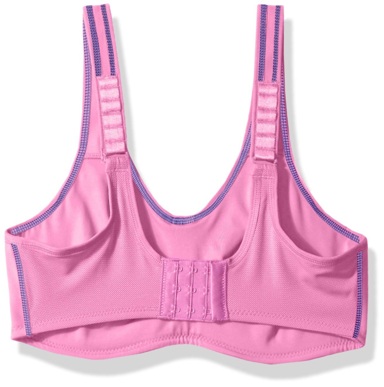 Wacoal Women's Plus Size Sport Underwire Bra, Haute Berry/Deep Ultramarine by Wacoal (Image #2)