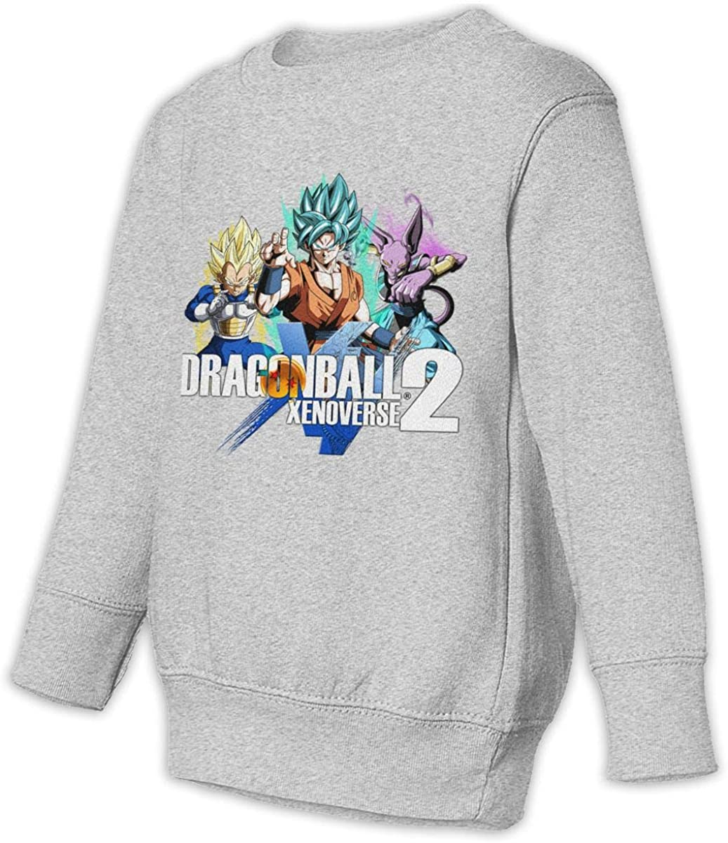 HsHdesign Child Long Sleeve Dragon Ball Xenoverse 2 Graphic Pullover for Spring//Autumn//Winter 2-6T