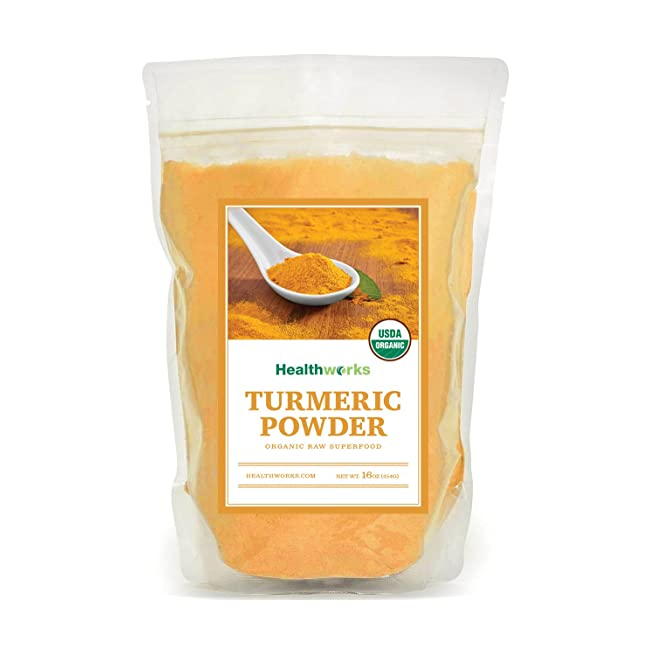 Healthworks Turmeric Root Powder (Curcumin) Or...