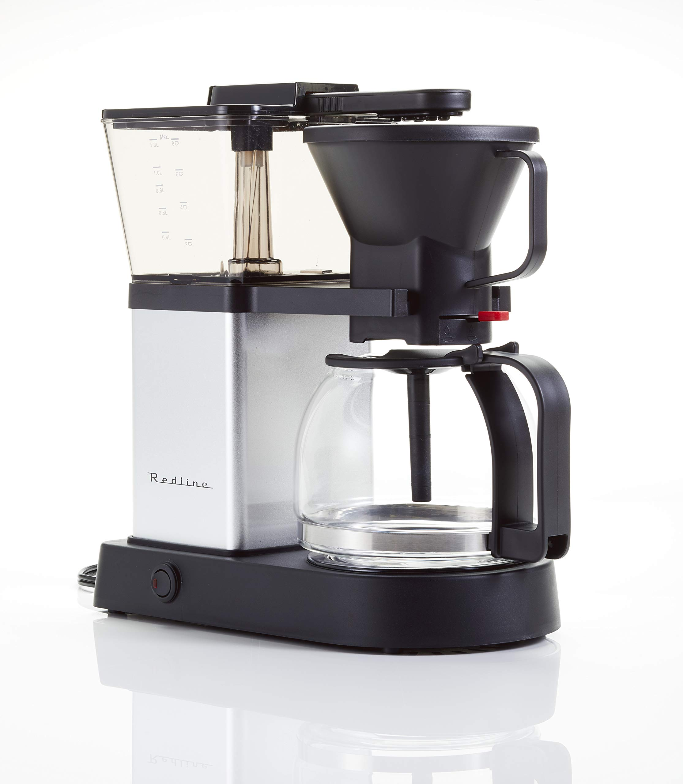 Redline MK1 8 Cup Coffee Brewer with Glass Carafe, Hot Plate and Pre-Infusion Mode (Summer 2018 Refresh) by Redline Coffee (Image #2)