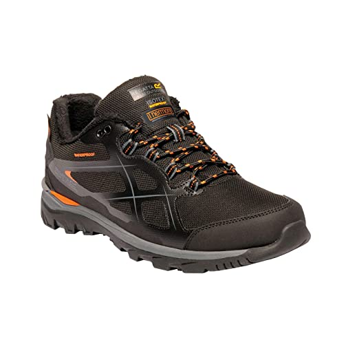 a4e58e3b06c Regatta Kota Thermo Low Rise Hiking Boot, Zapatillas de Senderismo para  Hombre, Negro (Black/Granite 9v8), 46 EU: Amazon.es: Zapatos y complementos