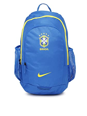 Nike Unisex Brasil Blue Backpack  Amazon.in  Bags, Wallets   Luggage a3a2c59adb