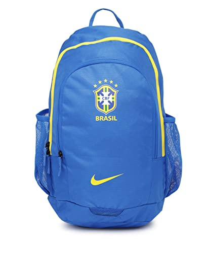 1266144e27 Nike Unisex Brasil Blue Backpack  Amazon.in  Bags