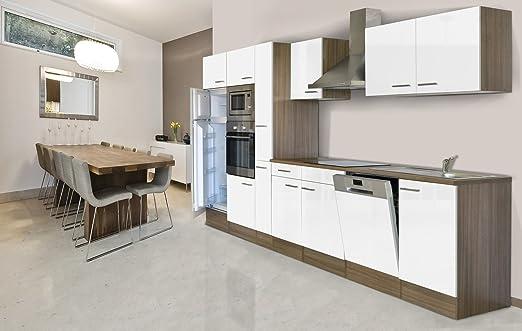 respekta Unidad integrada de Cocina Cocina Isla 370 cm Color ...