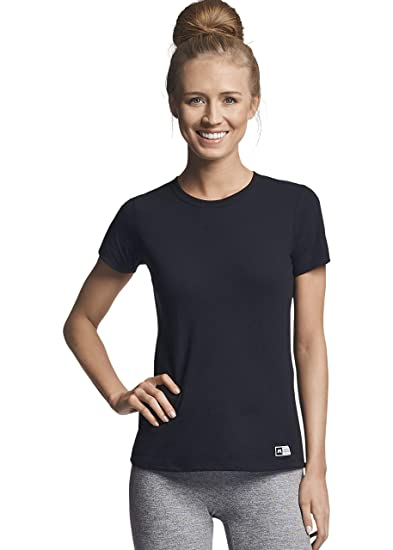 ae1fdd52968a9 Russell Athletic Women's Cotton Performance Short Sleeve T-Shirt at ...