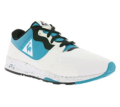 49eff7a60ab Le Coq Sportif Womens Tile Blue Speckled LCS R 1400 Trainers: Amazon.co.uk:  Shoes & Bags