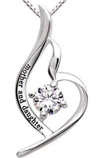 Amazoncom ALOV Jewelry Sterling Silver mother son forever love