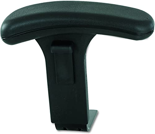 Safco Products T-Pad Arm Set for use with Uber Big and Tall Chairs, sold separately, Black