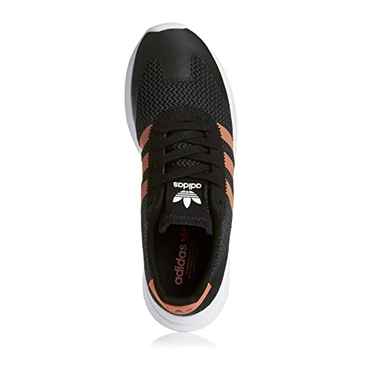 super popular dc69f df815 adidas Womens Flashback Sneaker Low Neck Black Amazon.co.uk Shoes  Bags
