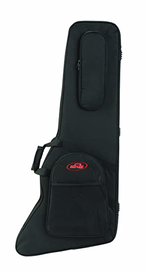 cb05558020 Image Unavailable. Image not available for. Colour: SKB Explorer/Firebird  Type Guitars Soft Case with EPS Foam Interior/Nylon Exterior,