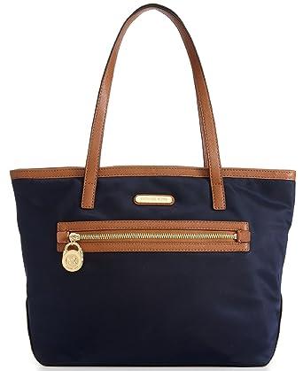 7436818fcee2 Michael Kors Kempton Small Tote Bag (One Size, Navy) at Amazon ...