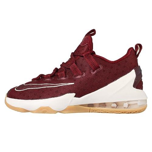 Nike Zapatillas de Baloncesto para Niños, Rojo (Team Red/Sail-Gum ...