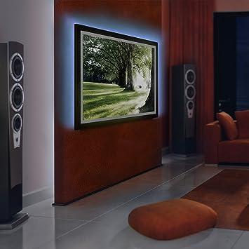 jago retroilluminazone tv strisce led retroilluminazione set kit retroilluminazione per tv da 24 42 pollici