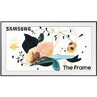 SAMSUNG 65-inch Class FRAME QLED LS03 Series - 4K UHD Dual LED Quantum HDR Smart TV with Alexa Built-in (QN65LS03TAFXZA…