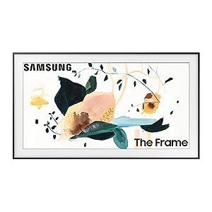 SAMSUNG 55-inch Class FRAME QLED LS03 Series - 4K UHD Dual LED Quantum HDR Smart TV with Alexa Built-in (QN55LS03TAFXZA, 2020 Model)