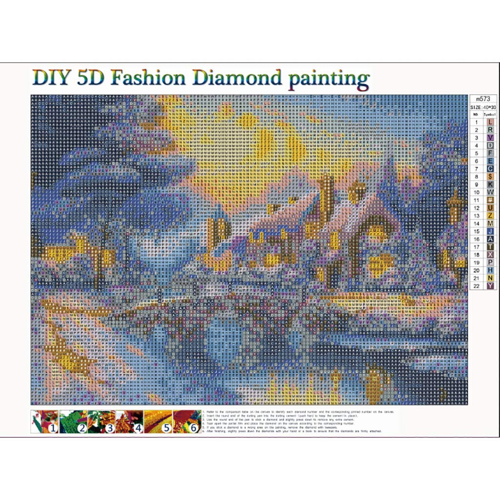 Full drill Fashion DIY Diamond Painting Fighter Aircraft Sunset Embroidery T1024