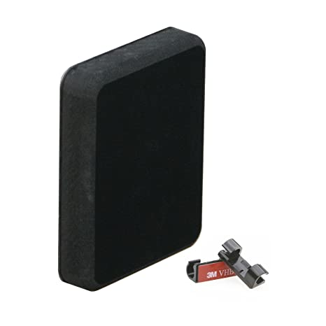 Stern Pad - Standard Size - Black - Screwless Transducer/Acc  Mounting Kit  (not for Large 3D Scan Transducers)